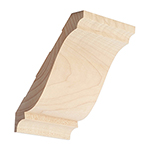 Hard Maple Crown Moulding B301