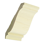 Poplar Crown Moulding B301