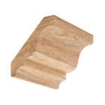 Hickory Crown Moulding B303
