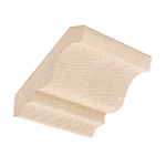 Hard Maple Crown Moulding B303