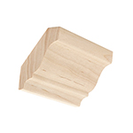 Hard Maple Crown Moulding B304