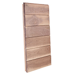 "3/4"" x 4-1/4"" Walnut Ship Lap Interior Siding - B611"
