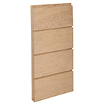 "3/4"" x 6-3/4"" White Oak Ship Lap Interior Siding - B612"