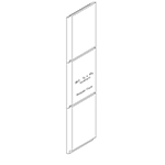 "3/4"" x 4-1/4"" Clear Western Red Cedar Ship Lap Interior Siding - B611"