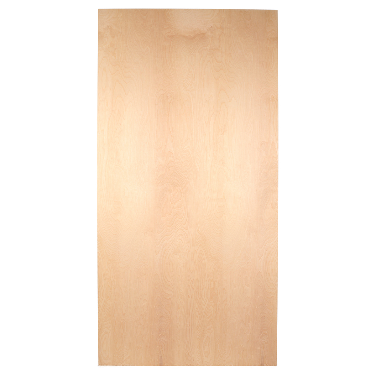 Birch Cabinet Grade Plywood (MDF core 48 1/2 x 96 1/2 sheet  #B86A13 1200x1200