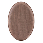 Walnut LJ7027 Large Oval Rosette