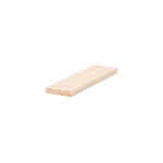 B6001S Maple Contemporary Shoe Rail