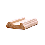 LJ6045 Maple Shoe Rail