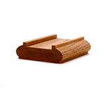 LJ6006 Red Oak Shoe Rail
