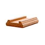 LJ6045 Red Oak Shoe Rail