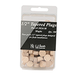 "LJ Smith 1/2"" Tapered Plugs 100 Pack"