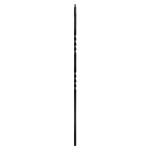 "L.J. Smith 1/2"" Iron Square Baluster  LI-2TW44, Oil Rubbed Bronze"