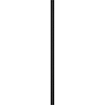 "1/2"" x 1-1/2"" x 44"" L.J. Smith Hollow Iron Baluster in Matte Nickel"