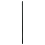 "L.J. Smith 3/4"" Hollow Iron Square Balusters LIH-MGPLA44, Matte Black"