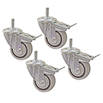 "Kreg Workspace Solutions 3"" Dual Locking Casters (Set of 4)"