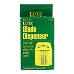 Lutz L92D Standard Utility Knife Blade Dispenser (100 Ct)