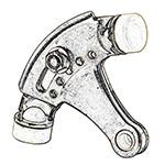 Ives By Schlage Satin Nickel Us15 Hinge Pin Door Stop 69
