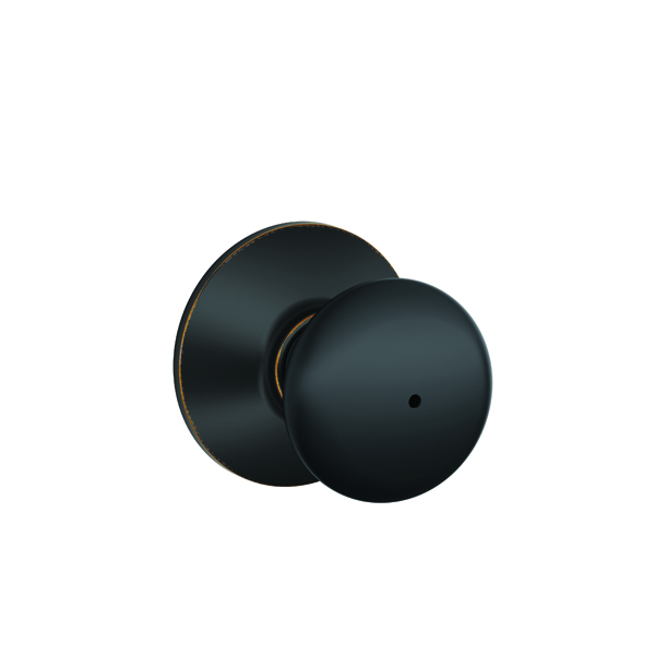 Schlage F40 Ply 716 Privacy Lock Bed Bath Knob In