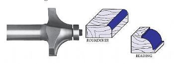 Whiteside 2010 Roundover Router Bit