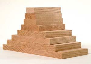 Premium Dimensional Hardwood S4S Lumber in over 17 species