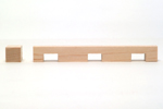 Maple Dentil Moulding B011