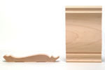Maple Crown Moulding B301