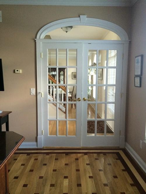 stunning interior design hinges on fine hardwood doors