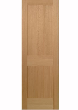 Interior Doors - Qtr. Sawn Red Oak Shaker