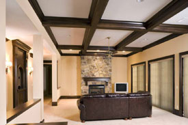 Mouldings - Family Room