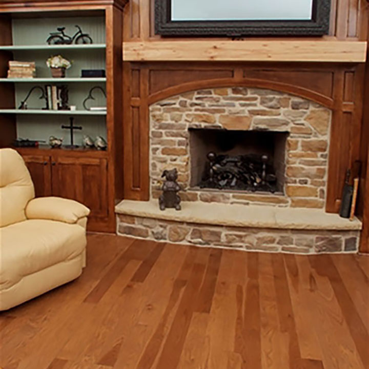Baird Traditional Family Room Hardwood Floors3