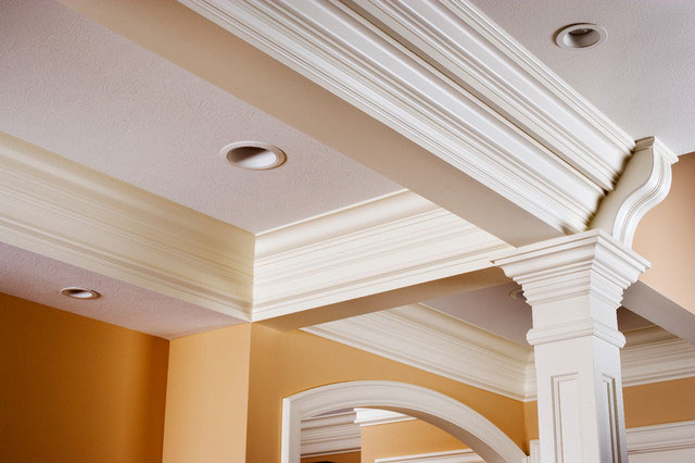 Coffered Ceiling Traditiona Other Metro Baird Brothers