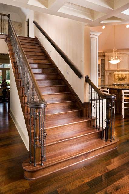 Traditional Staircase Walnut Baird Brothers